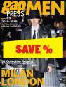 Gap Press Men no. 52 Milan/London