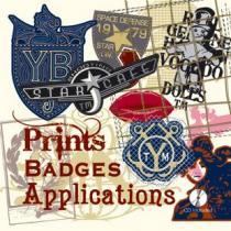 Prints Badges & Applications incl. CD-Rom