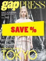 Gap Press Collections no. 140 Tokyo/Women/Men S/S 2018