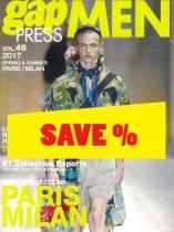 Gap Press Men no. 46 Paris/Milan