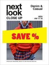 Next Look Close Up Men Denim & Casual no. 02 A/W 17/18