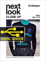 Next Look Close Up Men Knitwear no. 02 A/W 17/18 Digital Version