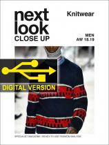 Next Look Close Up Men Knitwear no. 04 A/W 2018/2019 Digital Version