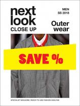 Next Look Close Up Men Outerwear no. 01 S/S 2018