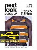 Next Look Close Up Men Top & T-Shirts no. 01 S/S 2018 Digital Version