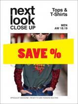 Next Look Close Up Men Tops &  T-Shirts no. 04 A/W 2018/2019