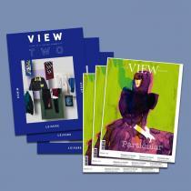 View Textile Magazine + View2, Abonnement Welt Luftpost