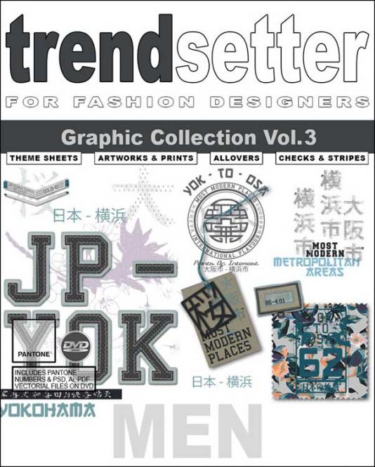 Trendsetter - Men Graphic Collection Vol. 3 incl. DVD
