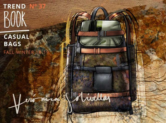 Mens & Casual Bags Trend Book by Veronica Solivellas, Subscription World Airmail