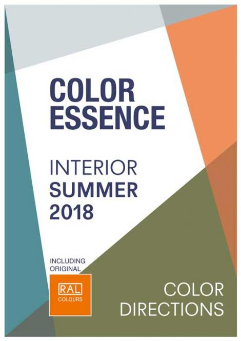 Color Essence Interior RAL S/S 2018