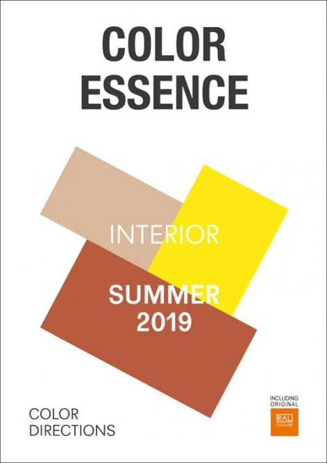 Color Essence Interior RAL S/S 2019