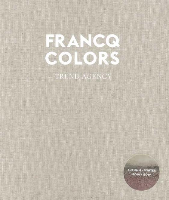 Francq Colors Trend Report A/W 2018/2019