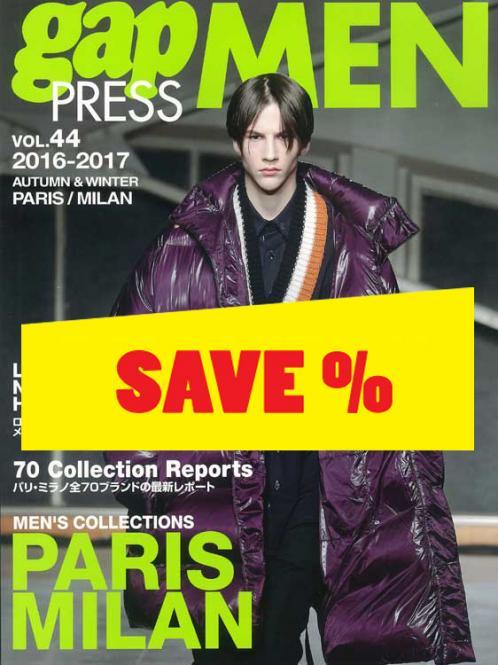 Gap Press Men no. 44 Paris/Milan