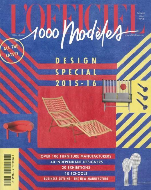L'Officiel 1.000 Models on Design and Style no. 13