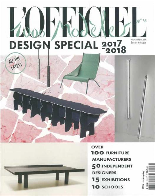 L'Officiel 1.000 Models on Design and Style no. 15