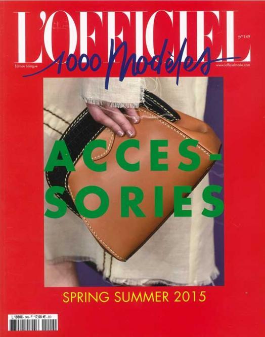 L Officiel Fashion Accessories no. 149         S/S 2015
