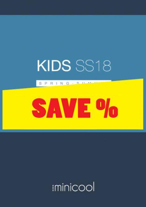 Minicool KIDS S/S 2018 incl. USB