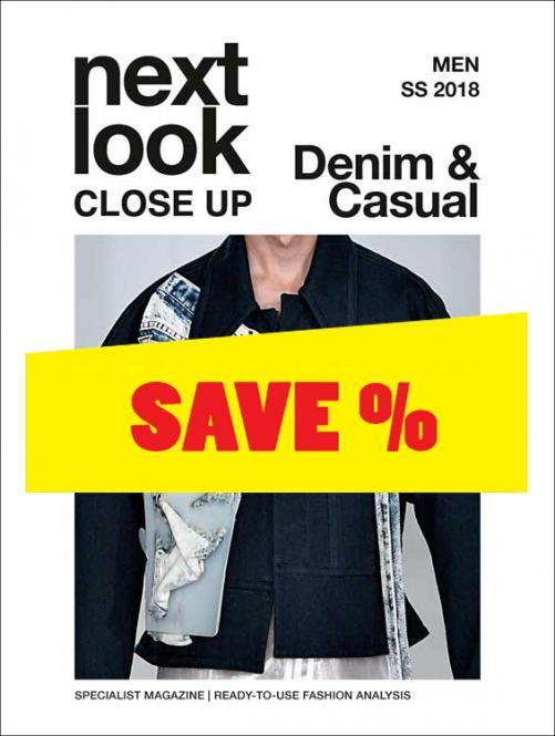 Next Look Close Up Men Denim & Casual no. 01 S/S 2018