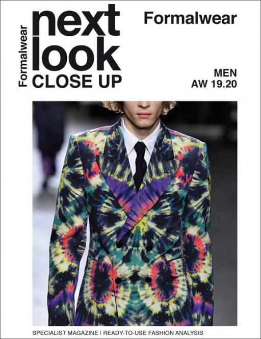 Next Look Close Up Men Formal Abonnement Welt Luftpost
