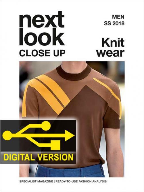 Next Look Close Up Men Knitwear no. 01 S/S 2018 Digital Version