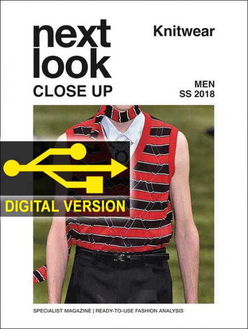 Next Look Close Up Men Knitwear no. 03 S/S 2018 Digital Version