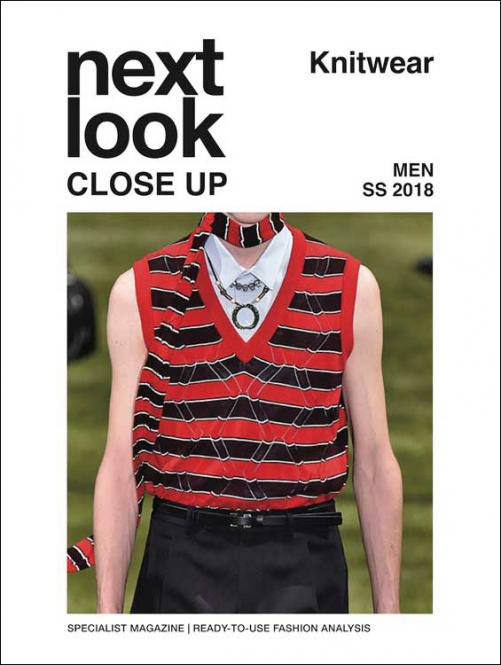 Next Look Close Up Men Knitwear no. 03 S/S 2018