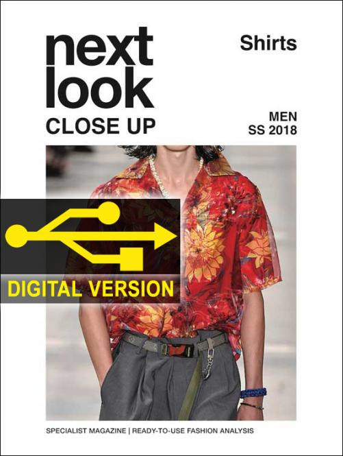 Next Look Close Up Men Shirts no. 03 S/S 2018 Digital Version