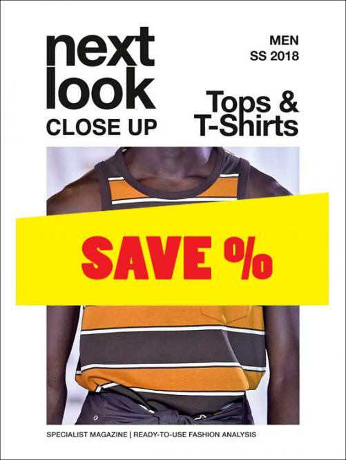 Next Look Close Up Men Top & T-Shirts no. 01 S/S 2018
