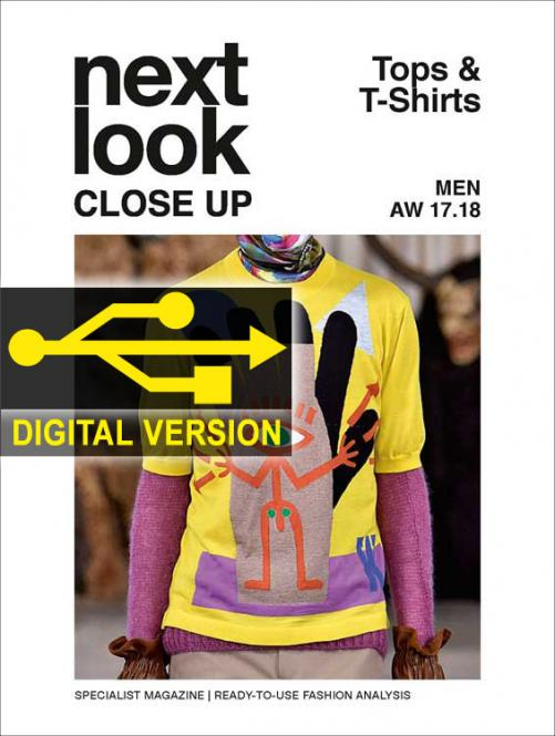Next Look Close Up Men Top & T-Shirts no. 02 A/W 17/18 Digital