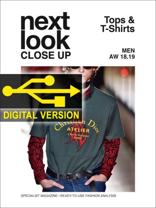 Next Look Close Up Men Top & T-Shirts no. 04 A/W 18/19 Digital