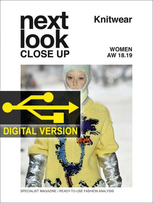 Next Look Close Up Women Knitwear no. 04 A/W 2018/2019 Digital Version