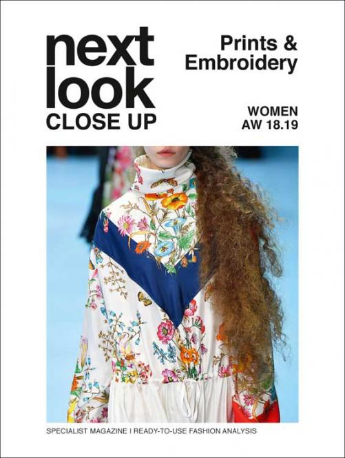 Next Look Close Up Women Print Embroidery no. 04/ A/W 2018/2019