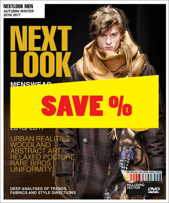 Next Look Menswear A/W 16/17 Fashion Trends Styling incl. DVD