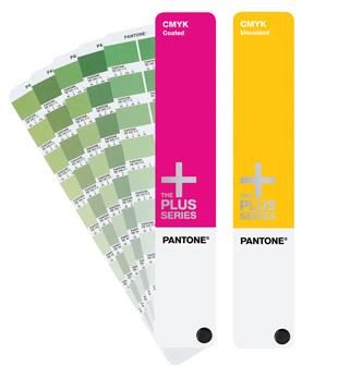 PANTONE PLUS CMYK coated & uncoated set