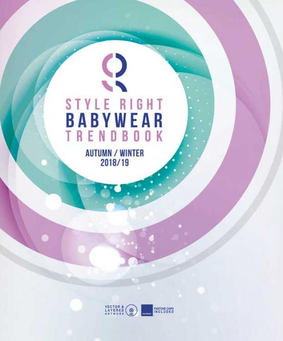 Style Right Babywear Trendbook A/W 2018/2019 incl. DVD