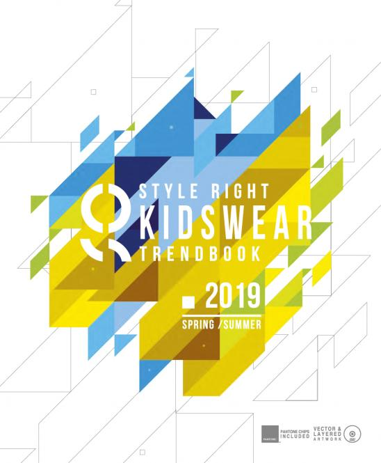 Style Right Kidswear Trendbook S/S 2019 incl. DVD