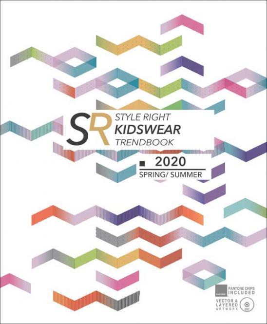 Style Right Kid's Trend Book, Abonnement Welt Luftpost