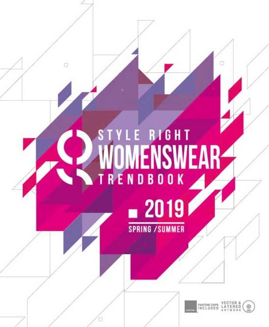 Style Right Women's Trend Book, Abonnement Welt Luftpost