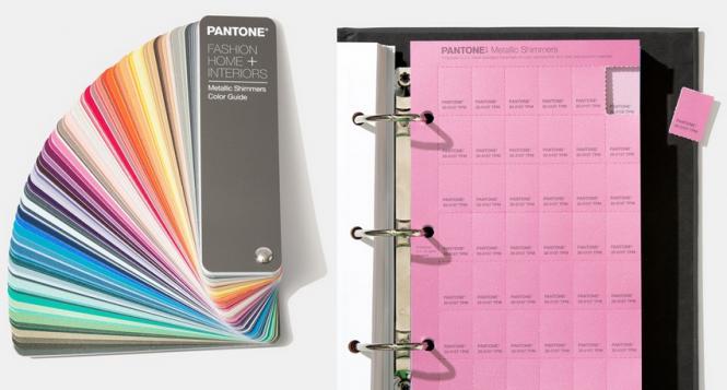 PANTONE Fashion Home + Interiors Metallic Shimmers Color Set