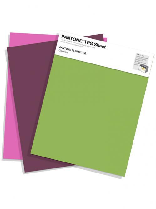 PANTONE TPG Sheet