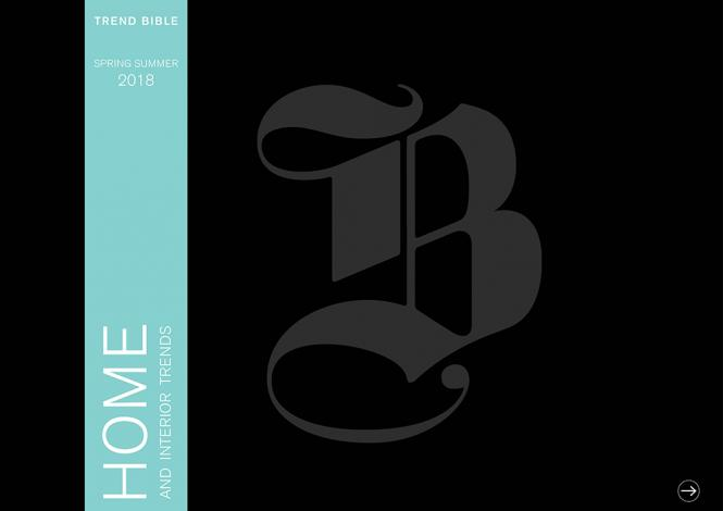 Trend Bible Home & Interior Trends S/S 2018 - eBook