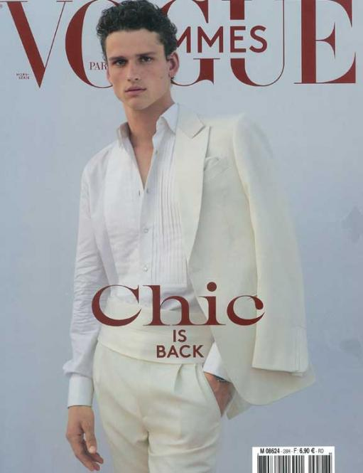 Vogue Homme International - GB, Abonnement Welt Luftpost
