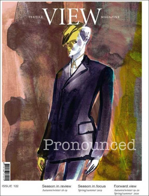 View Textile Magazine, Abonnement Europa