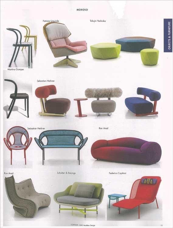 l 39 officiel models on design and style no 13 mode information gmbh. Black Bedroom Furniture Sets. Home Design Ideas
