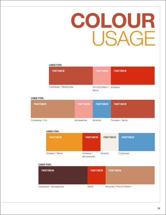 Next Look Colour Usage A W 2018 2019 Mode Information Gmbh