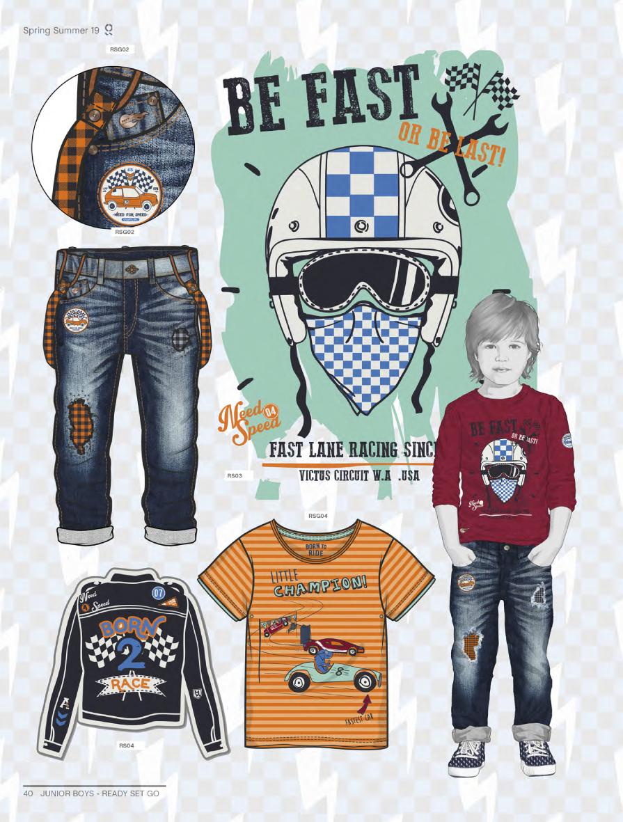 Style Right Kidswear Trendbook S S 2019 Incl Dvd Mode