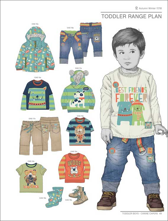Style Right Babywear Trendbook A W 2017 2018 Incl Dvd