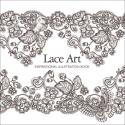 Lace Art Inspirational Illustration Book