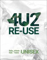 4U2RE-USE Trendbook incl. USB Baby/Infants/Kids/Teens Unisex