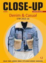 Close-Up Man Denim & Casual, Subscription World Airmail